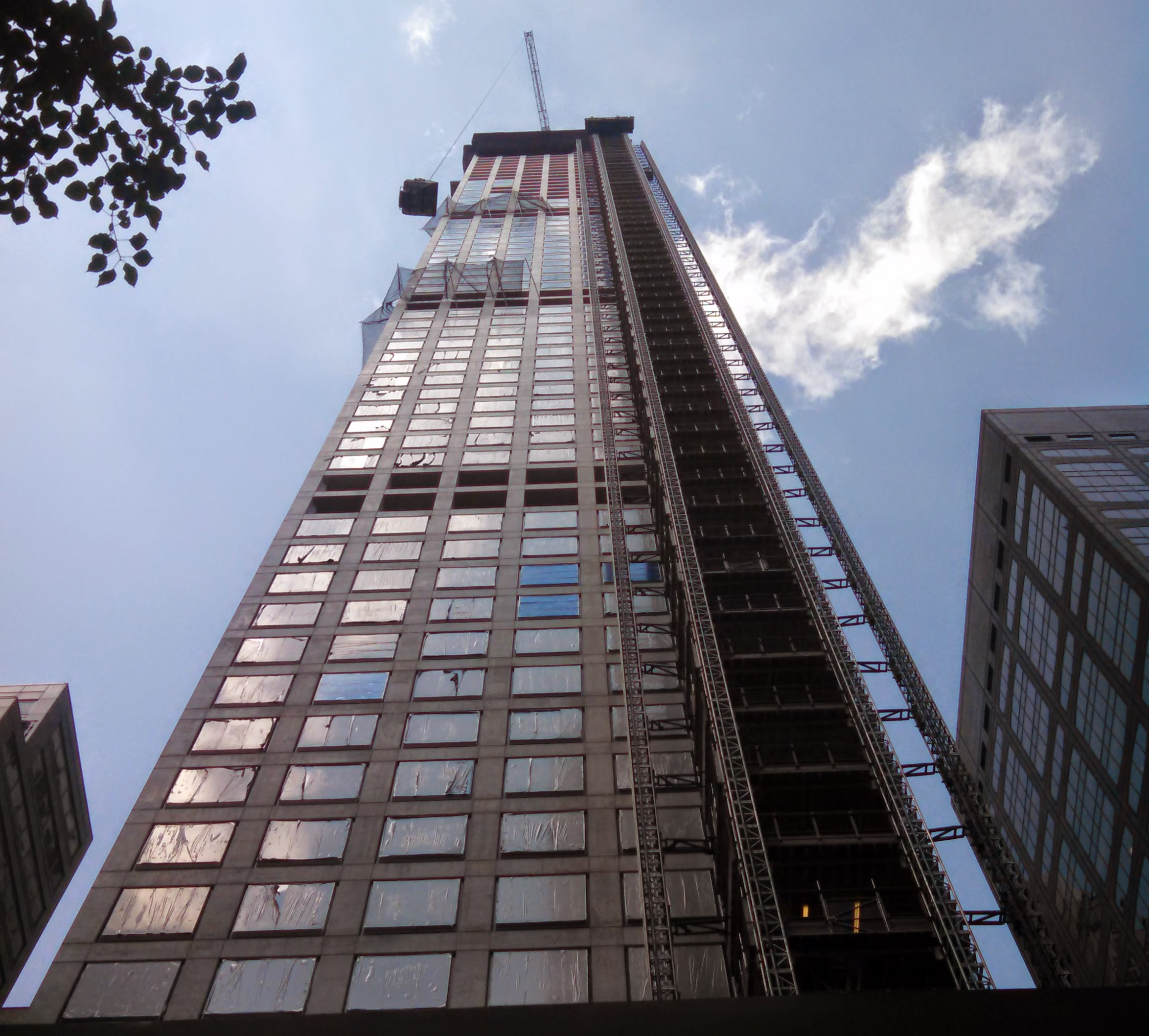 """""""2014 July NYC's 432 Park Avenue"""" by The Hornet"""