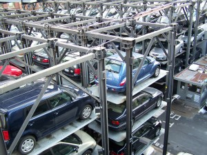 """""""Stacked parking New York 2010"""" by Jérôme"""
